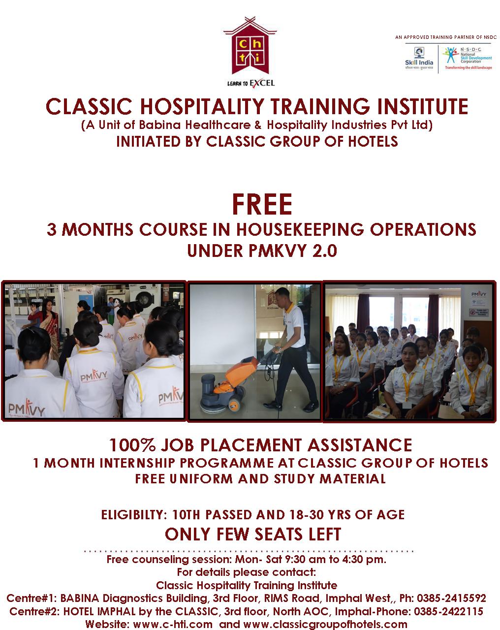 Classic Hospitality Training Institute